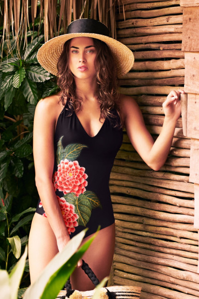 Купальник Amazonas One Piece Black Cosita Linda